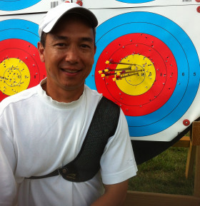 Now this is a recurve coach who knows what he is doing, national champion and L3 coach Gabe Querol.