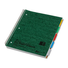 Notebook with Tabs