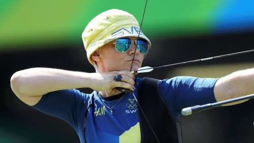Christine Bjerendal of Sweden (2016 Olympics)
